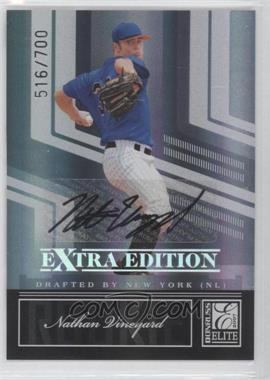 2007 Donruss Elite Extra Edition #124 - Nathan Vineyard /700