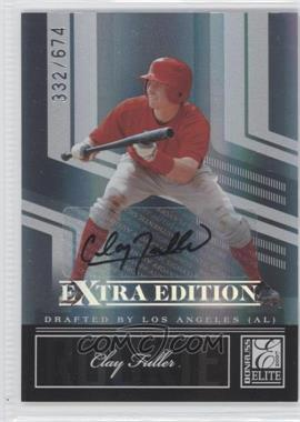 2007 Donruss Elite Extra Edition #97 - Clay Fuller /674