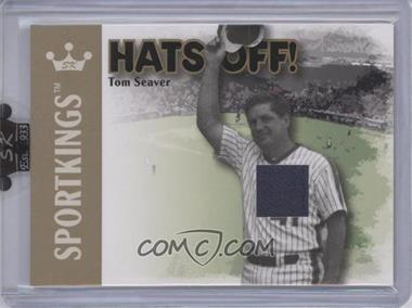 2007 Sportkings Series A - Hats Off - Gold #HO-05 - Tom Seaver