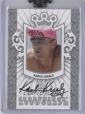 2007 Sportkings Series A Autographs Silver #A-KK - Karch Kiraly