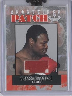 2007 Sportkings Series A Patch Silver #P-08 - Larry Holmes