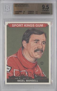 2007 Sportkings Series A #22 - Nigel Mansell [BGS9.5]