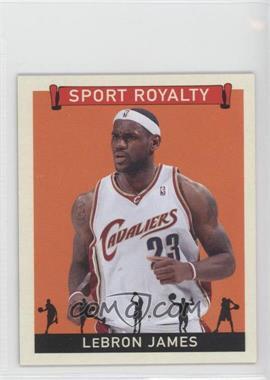 2007 Upper Deck Goudey Sport Royalty #SR-LJ - Lebron James