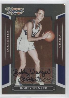 2008 Donruss Americana Sports Legends - [Base] - Mirror Blue Signatures [Autographed] #39 - Bobby Wanzer /250