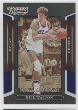 2008 Donruss Americana Sports Legends - [Base] - Mirror Blue #87 - Bill Walton /100