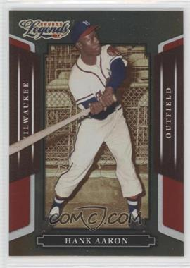 2008 Donruss Americana Sports Legends - [Base] - Mirror Red #10 - Hank Aaron /250