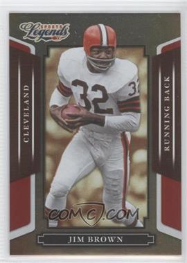 2008 Donruss Americana Sports Legends - [Base] - Mirror Red #2 - Jim Brown /250