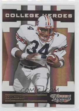 2008 Donruss Americana Sports Legends - College Heroes - Gold #CH-4 - Bo Jackson /100
