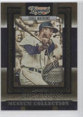 2008 Donruss Americana Sports Legends - Museum Collection #MC-22 - Eddie Mathews /1000