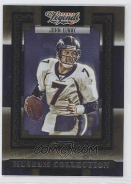 2008 Donruss Americana Sports Legends - Museum Collection #MC-6 - John Elway /1000
