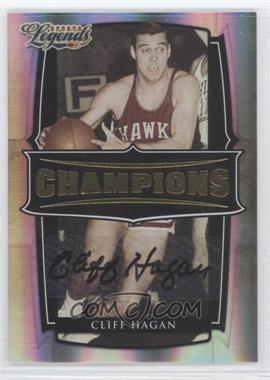 2008 Donruss Americana Sports Legends Champions Signatures [Autographed] #C-13 - Cliff Hagan /100