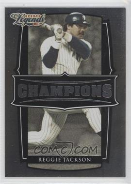 2008 Donruss Americana Sports Legends Champions #C-11 - Reggie Jackson /1000