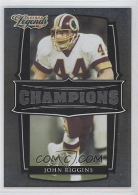 2008 Donruss Americana Sports Legends Champions #C-5 - John Riggins /1000