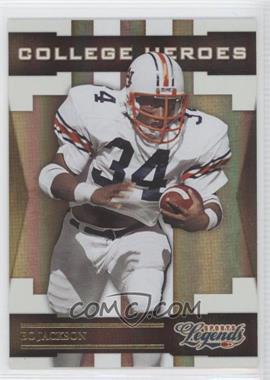 2008 Donruss Americana Sports Legends College Heroes Gold #CH-4 - Bo Jackson /100