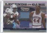 Earl Campbell, Elvin Hayes /100