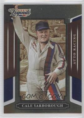 2008 Donruss Americana Sports Legends Mirror Blue #109 - Cale Yarborough /100