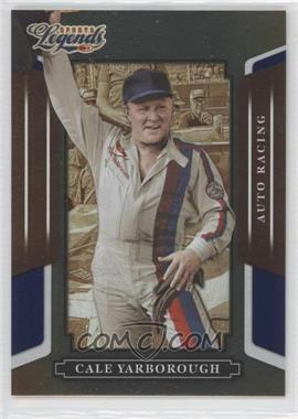 2008 Donruss Americana Sports Legends Mirror Blue #109 - Cale Yarborough /100