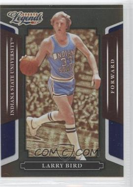2008 Donruss Americana Sports Legends Mirror Blue #3 - Larry Bird /100