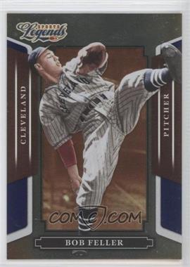 2008 Donruss Americana Sports Legends Mirror Blue #65 - Bob Feller /100