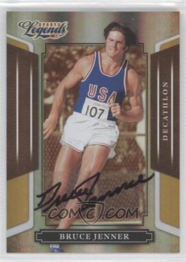 2008 Donruss Americana Sports Legends Mirror Gold Signatures [Autographed] #23 - Bruce Jenner /25