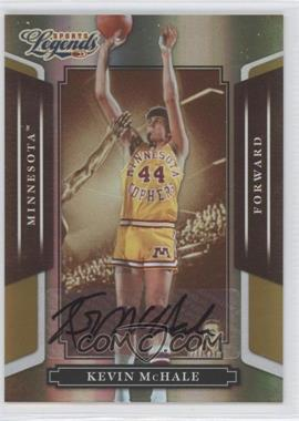 2008 Donruss Americana Sports Legends Mirror Gold Signatures [Autographed] #25 - Kevin McHale /25