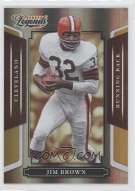 2008 Donruss Americana Sports Legends Mirror Gold #2 - Jim Brown /25