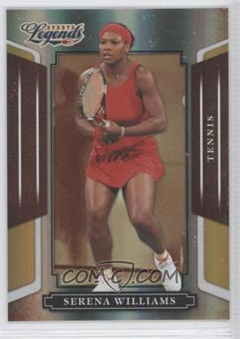 2008 Donruss Americana Sports Legends Mirror Gold #94 - Serena Williams /25