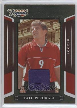 2008 Donruss Americana Sports Legends Mirror Red Materials [Memorabilia] #98 - Tatu Pecorari /500