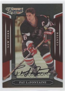 2008 Donruss Americana Sports Legends Mirror Red Signatures [Autographed] #132 - Pat LaFontaine /290