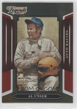 2008 Donruss Americana Sports Legends Mirror Red #116 - Al Unser /250