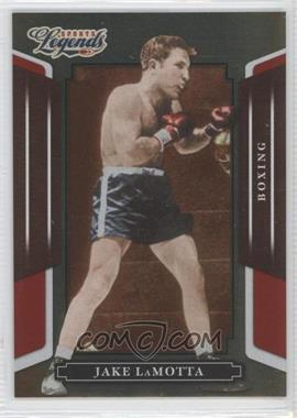 2008 Donruss Americana Sports Legends Mirror Red #13 - Jake LaMotta /250