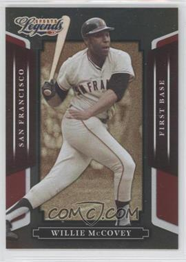 2008 Donruss Americana Sports Legends Mirror Red #143 - Willie McCovey /250