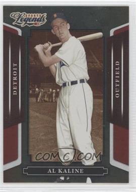 2008 Donruss Americana Sports Legends Mirror Red #145 - Al Kaline /250