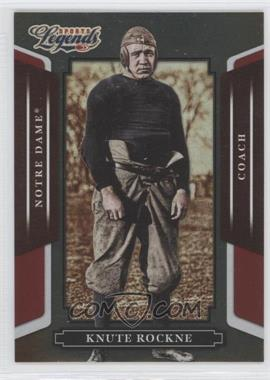 2008 Donruss Americana Sports Legends Mirror Red #148 - Knute Rockne /250
