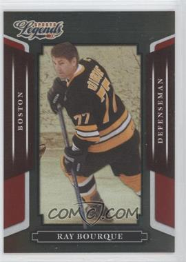 2008 Donruss Americana Sports Legends Mirror Red #17 - Ray Bourque /250