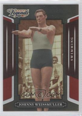2008 Donruss Americana Sports Legends Mirror Red #18 - Johnny Weissmuller /250