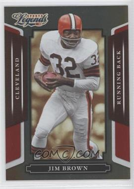 2008 Donruss Americana Sports Legends Mirror Red #2 - Jim Brown /250