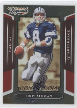 2008 Donruss Americana Sports Legends Mirror Red #21 - Troy Aikman /250