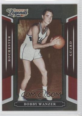 2008 Donruss Americana Sports Legends Mirror Red #39 - Bobby Wanzer /250