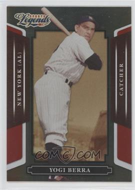 2008 Donruss Americana Sports Legends Mirror Red #60 - Yogi Berra /250