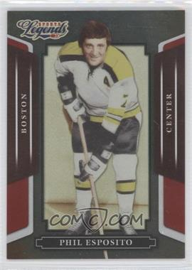 2008 Donruss Americana Sports Legends Mirror Red #91 - Phil Esposito /250