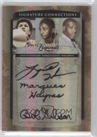 Bob Gibson, Lynette Woodard, Marques Haynes /50