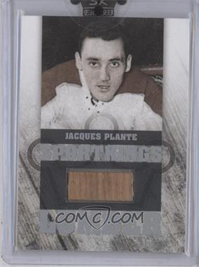 2008 Sportkings Series B - Lumber - Silver #L-03 - Jacques Plante /9