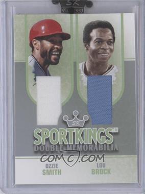 2008 Sportkings Series B [???] #DM-02 - Ozzie Smith, Lou Brock