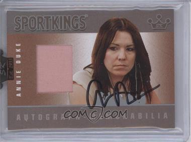 2008 Sportkings Series B Autograph - Memorabilia Silver [Autographed] #AM-ADU2 - [Missing]
