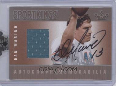 2008 Sportkings Series B Autograph - Memorabilia Silver [Autographed] #AM-DMA2 - [Missing]