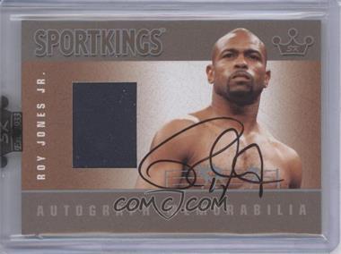 2008 Sportkings Series B Autograph - Memorabilia Silver [Autographed] #AM-RJ - Roy Jones Jr.