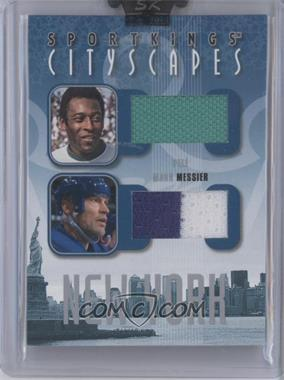 2008 Sportkings Series B Cityscapes Silver #CSD-08 - Pele, Mark Messier
