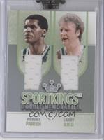 Robert Parish, Larry Bird
