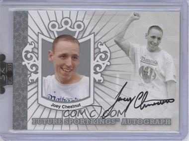 2008 Sportkings Series B Future Sportkings Autograph Silver [Autographed] #FSA-JC - Joey Chestnut